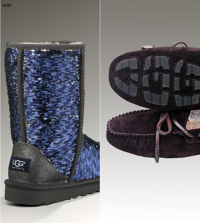 boots style ugg tricot bebe