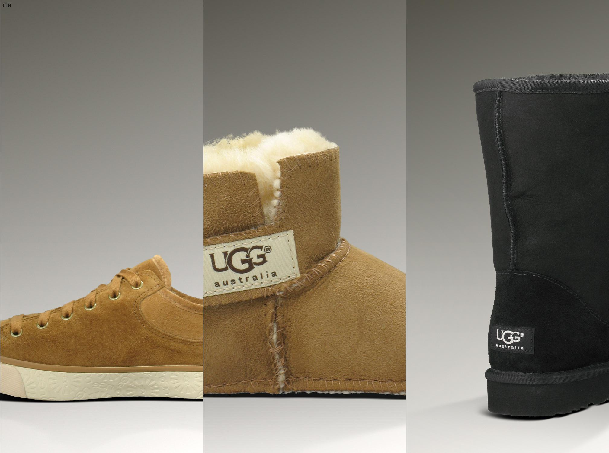 bottines type ugg