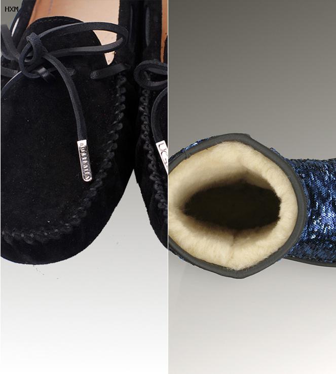 gants ugg femme noir