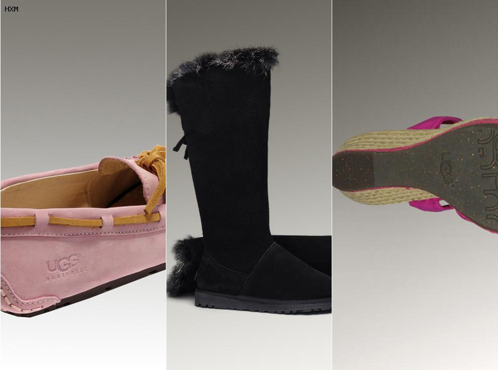 ugg grise pas cher